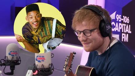 Video   Ed Sheeran cantó el tema de El Príncipe del Rap
