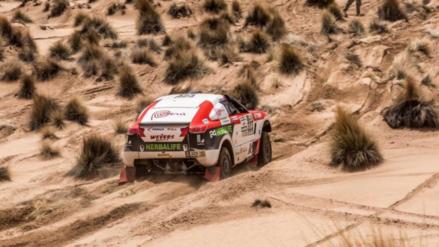 Nicolás Fuchs hizo historia al terminar la décima etapa del Dakar 2017