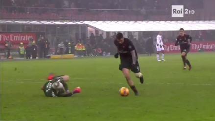 Gianluca Lapadula falló increíble ocasión de gol sin arquero en la Copa Italia