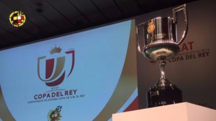 Estos son los emparejamientos de los cuartos de final de la Copa del Rey