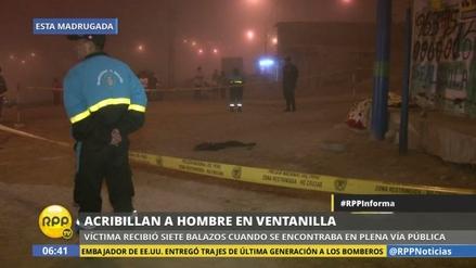 Sicarios asesinan a balazos a un joven en Ventanilla