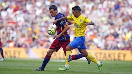 Barcelona venció 5-0 a Las Palmas con doblete de Luis Suárez
