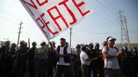 Convocan a una tercera marcha contra el peaje de Puente Piedra