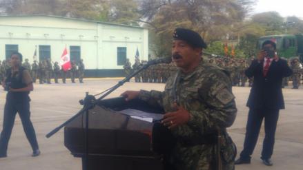General Oscar Reto Otero asume la jefatura del Ejército en Piura