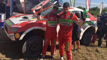 Nicolás Fuchs terminó el Dakar 2017 dentro de los 15 mejores