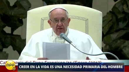 El mensaje del Papa Francisco: