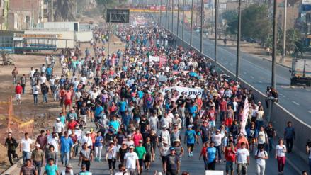 Fiscal pidió 3 meses de prisión a 55 detenidos por protestas en Puente Piedra