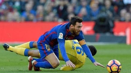 Lionel Messi falló una clara ocasión tras estar solo frente al portero