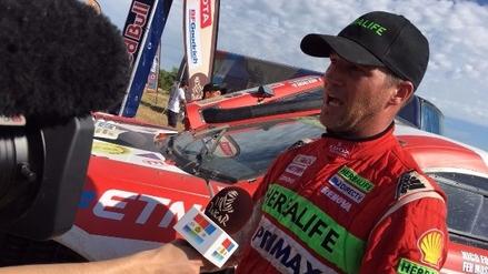 Nicolas Fuchs sobre su puesto 12 en el Dakar:
