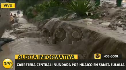 Video | La fuerza de los huaicos que cayeron sobre Chaclacayo y Santa Eulalia