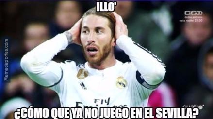 Mira los divertidos memes que dejó la derrota del Real Madrid ante Sevilla