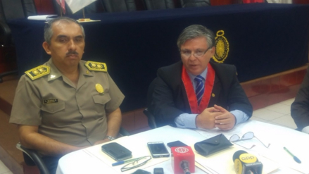 Policía y Fiscalía trabajan protocolo de flagrancia en lucha contra el crimen