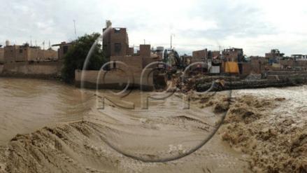 Incremento de caudal del río Ica perjudica a pobladores de la zona