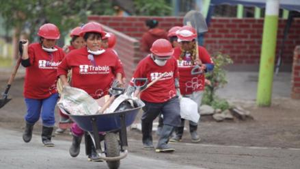 Grados: Este año Trabajo Perú generará 17,532 empleos temporales