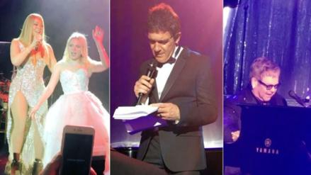 La millonaria boda que juntó a Mariah Carey, Elton John y Antonio Banderas