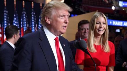 Donald Trump se equivocó de hija en Twitter