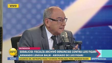 """Abogado de Luis Figari: """"La Fiscalía actuó con todas sus facultades"""""""