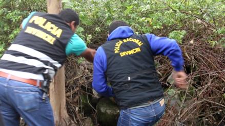 Huancayo: detienen a sujeto que enterró en descampado a su hija