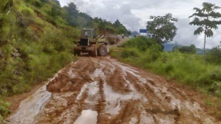 Satipo: fuertes lluvias y huaicos afectaron las carreteras
