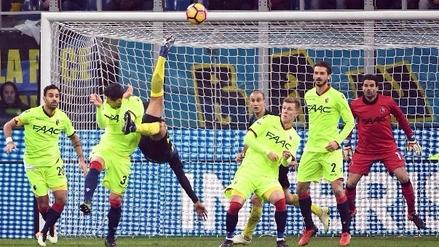 Golazo de 'chalaca' de Jeison Murillo en la clasificación del Inter en la Copa Italia