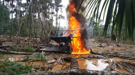 Minería ilegal: recuperan más de 500 hectáreas de Reserva de Tambopata