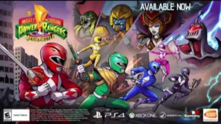 Un estudio peruano lanzó el nuevo videojuego de los Power Rangers