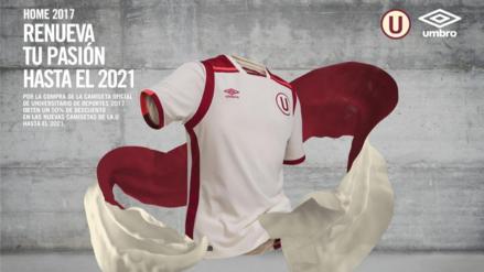 Conoce al detalle la camiseta de Universitario de Deportes para el 2017