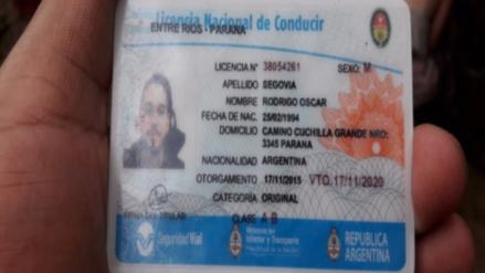 Hallan cuerpo sin vida de argentino que cayó al río Araza