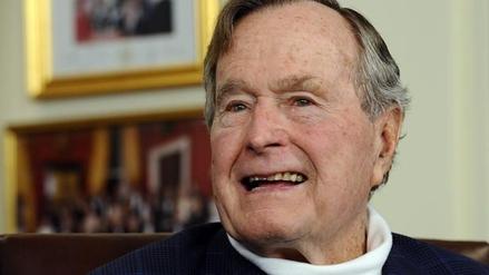 Hospitalizan al expresidente George Bush 'padre' en Houston