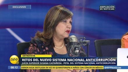 """Susana Castañeda sobre Lava Jato: """"Pediré que viajemos a Brasil"""""""