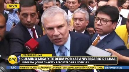 Castañeda confirmó negociación con Rutas de Lima para retirar el peaje