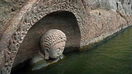 Un Buda de 600 años fue hallado en China