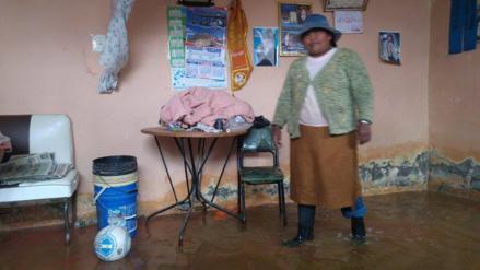 Puno: 35 viviendas quedaron afectadas por fuertes lluvias