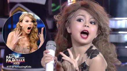 Video | Taylor Swift tiene una imitadora de 7 años