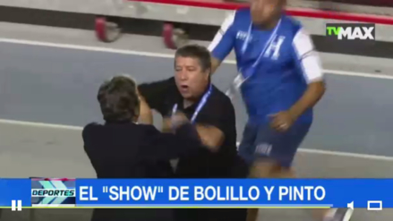 'El Bolillo' Gómez y Jorge Luis Pinto casi se agarran a golpes en la Copa Centroamericana