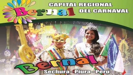 Piura: hoy comienzan los carnavales en Bernal