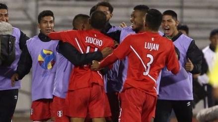 Así fue el primer gol de Perú en el Sudamericano Sub 20 de Ecuador