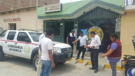 Pobladores de Jayanca protestaron por retiro de patrullero a comisaria