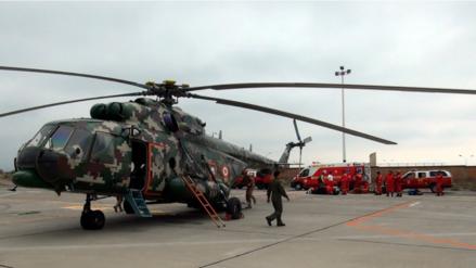 Helicóptero partió de Arequipa con nuevos equipos de rescate