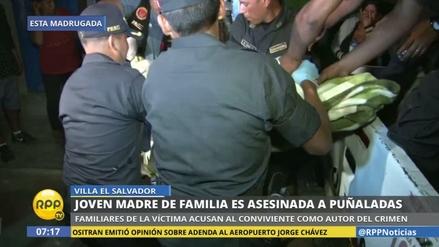 Asesinan a puñaladas a una joven madre en Villa El Salvador