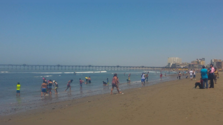 Nueve playas de Lambayeque calificaron como no saludables
