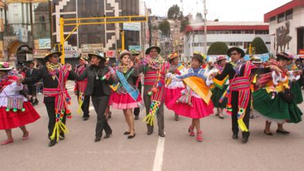 Juliaca inicia carnavales con la tradicional Qashwa de San Sebastián