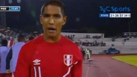 Selección Peruana: así se narró el gol de Roberto Siucho en Argentina