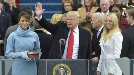 Donald Trump juró como presidente de los Estados Unidos