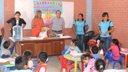 Niños de zonas más pobres de Lambayeque reciben programa de vacaciones útiles 2017