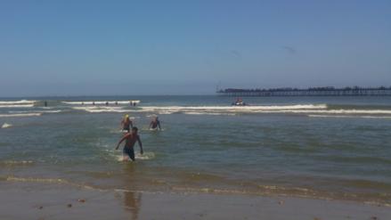 Chiclayo: rescates en playas disminuyeron en un 80%