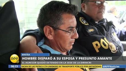 Un hombre baleó a su esposa y a su presunto amante en Breña