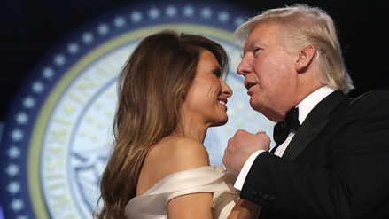 Melania Trump sorprende con vestido de exdiseñador de Carolina Herrera