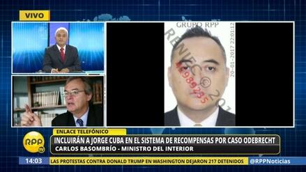 Incluirán a Jorge Cuba en programa de recompensas por caso Odebrecht