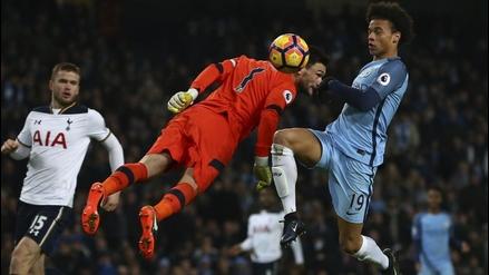 Hugo Lloris cometió dos increíbles bloopers ante el Manchester City